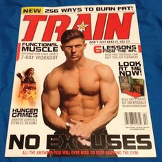 Honestly.. I forgot to post this a long time ago but finally got my hands on a copy of Train Magazine February!! And look who's on the front! @stevecook_32 #gym #magazine #train #eatclean #traininsaiyan #traindirty #gymrat #swoldier #swoldiernation #stevecook_32 #happy #magazine #covermodel #contestprep #personaltrainer #fitfam #fitness #fitfreaks by kalexander_9one