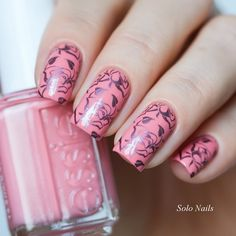#nails #stamping  #manicure