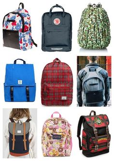 Coolest backpacks for big kids, tweens + teens: Dozens of fun ideas from regular packs to laptop backpacks. | back to school guide 2015