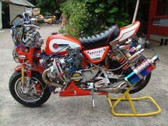 erm, a Turbo Honda Monkey bike- definitely needs something more!