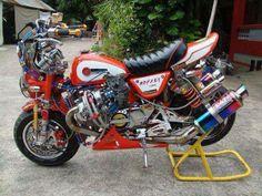 erm, a Turbo Honda Monkey bike- definitely needs something more!