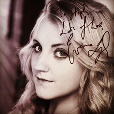 Meet Evanna Lynch yesterday :')