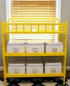 """diy changing table   Trash to Treasure"""" Ideas {Linky Party Features}"""