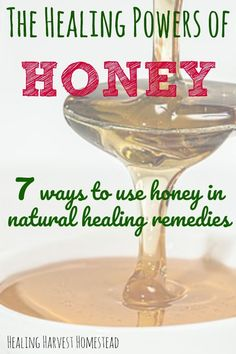 7 Ways to Use the Healing Power of Honey: Natural Honey Remedies You Can Make at Home Find out everything you need to know about using honey to heal your body. Honey is useful and effective for many natural remedies. What is honey made of? How can it help Natural Home Remedies, Natural Healing, Herbal Remedies, Holistic Remedies, Holistic Healing, Honey Benefits, Coconut Health Benefits, Natural Honey, Natural Oil