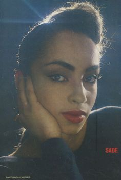Sade. Enough said!
