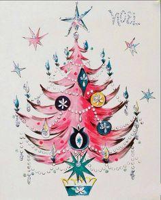 Pretty Christmas tree.