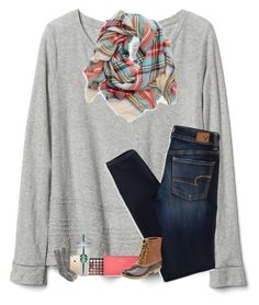 """""""Finals are coming up :("""" by sanddollars ❤ liked on Polyvore featuring Gap, American Eagle Outfitters, Morphe, Kate Spade, L.L.Bean, WALL and J.Crew"""