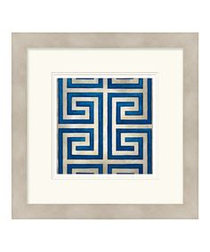 Take a look at this Classical Symmetry VIII Framed Wall Art by Surya on #zulily today!
