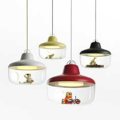 Suspension globe polyester Favorite Things Eno Studio