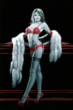 Greg Hildebrandt's - Black Board/Pin up Art for sale on ...