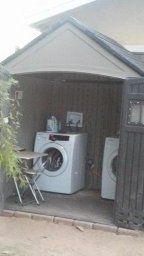 outside laundry on patio - Google Search