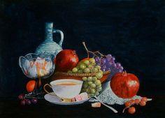 COOL画「机上のフルーツ」[HIROKI] | ART-Meter