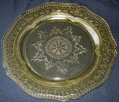 Federal Glass Depression Era Patrician Spoke Dinner Plate