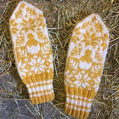 Ravelry: Lille kylling-vott // Little Chicken Mittens pattern by Steepfield Knits Mittens Pattern, Ravelry, Knit Crochet, Easter, English, Chicken, Knitting, Lady, Knits