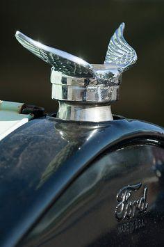 1925 Ford Model T Hood Ornament by Jill Reger