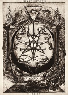 the nerd abides — socialpsychopathblr: Occult and esoteric art. Occult Symbols, Occult Art, Ancient Symbols, Dark Artwork, Dark Art Drawings, Arte Horror, Horror Art, Alfabeto Viking, Alchemy Art