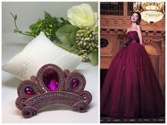 """Mi piace"": 48, commenti: 2 - VuEffe soutache (@vueffe_soutache) su Instagram: ""Crown For a bag #soutache #soutachejewelry #handmade #handmadejewelry #forbags #vueffesoutache…"""