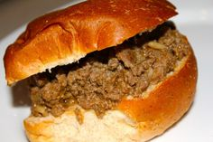 Looking for a Tavern Burger or loose meat sandwich recipe like Bob's in LeMar, Iowa.  I'll give this a try.