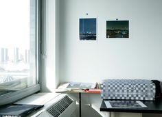 The Queens, NY, studio of #photographer Lajos Geenen