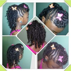 two strand twists toddler - Google Search