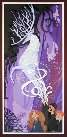 Harry Potter Fan Art by Brittney Lee