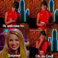 #Glee #RachelBerry #QuinnFabray #Faberry #Achele