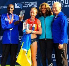 Легонькова стала третьою українкою, яка виграла традиційний марафон в Лос-Анджелесі #Україна #спорт #новини #Ukraine #sport #news