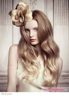 Romantic Two Tone Long ombre color Hairstyle