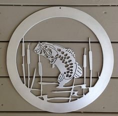 Hey, I found this really awesome Etsy listing at https://www.etsy.com/listing/191414653/personalized-bass-fish-metal-sign