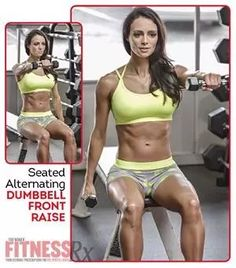 Tighten & Tone Your Upper Body Dumbbell Exercises For Women, Dumbbell Workout, Back Exercises, Figure Competition, Weight Loss Cleanse, Fitness Tips, Body Fitness, Gym Time, Upper Body