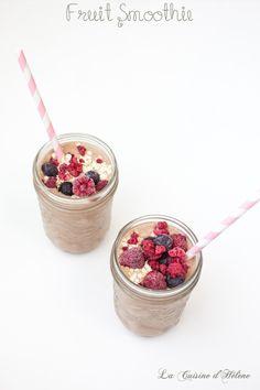 Fruit Smoothie - La Cuisine d'Helene