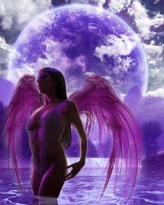 Angel at Twilight