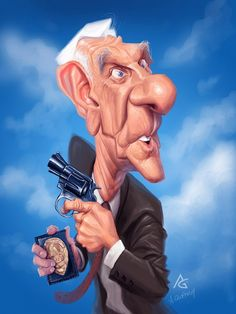 Fun Caricatures of TV & Movie Characters (by Anthony Geoffroy) - What an ART!