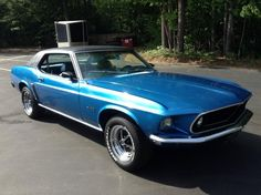 1969 Ford Mustang Grande Coupe