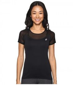 ASICS - Elite Short Sleeve Tee (Performance Black) Women's T Shirt