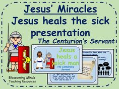 Jesus' Miracles RE/assembly presentation - Jesus heals the sick story
