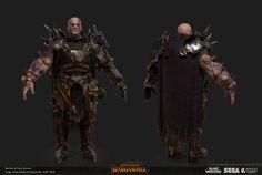 ArtStation - Total War: Warhammer- Chaos Sorcerer, Matthew Davis