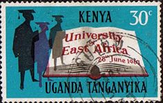Postage Stamps Kenya Uganda Taganyika 1963 Founding of East African University Fine Used SG 203 Scott 140 For Sale Take a look
