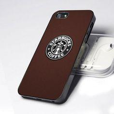 Starbucks Cofee Brand Logo Brown 5 design for iPhone 5 Case