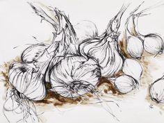 Onions on Mud Natasha Clutterbuck