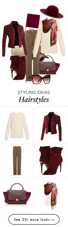 """""""Warm for fall"""" by wickedangel on Polyvore featuring ULTA, CÉLINE, Burberry, Joseph, Tom Ford, Lemaire and Warehouse"""