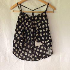 ASOS - Green Flowers Polyester Top. Excellent condition. Make an offer and no trade. ASOS Tops