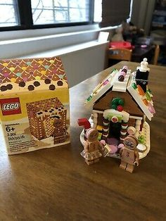 5005156 New and Sealed Ginger Bread House Storage Lego Gingerbread Man