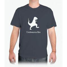 Men's Unclesaurus Rex T-Shirt Uncle 's Day T-Shirt Uncle Gift - Mens T-Shirt