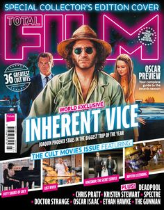 Cover TOTAL FILM Magazine 229, January 2015. World exclusive: Inherent Vice. Oscar preview.