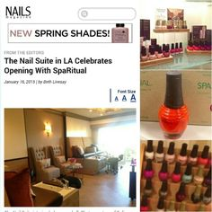 "More press coverage! about the newly opened, Raad Ghantous & Associates / RG&A designed Four Seasons Hotel Los Angeles at Beverly Hills Nail Salon Suite!! ....This one from Nails Magazine "" The newly opened Nail Suite is an intimate sanctuary with four pedicure chairs and two manicure stations. Renowned Southern California spa designer Raad Ghantous & Associates was inspired by Hollywood elegance when designing The Nail Suite's contemporary decor. ""…"