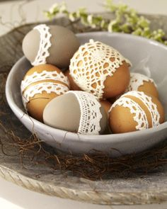 laced eggs