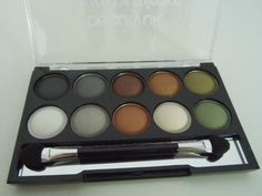 Kosmetik4less Review: Swatches -  beautyuk earth child eyeshadow palette | Madame Keke Fashion & Beauty Blog