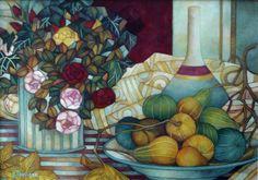 natura morta con zucchette (still life with gourds) by ELISABETTA TREVISAN