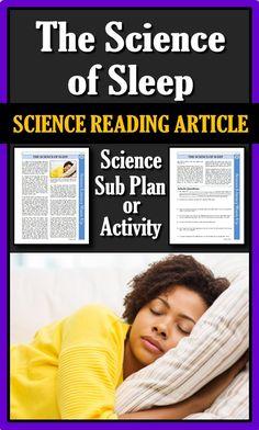 science articles or blog posts in sleep